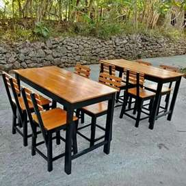 Set meja kursi cafe promo