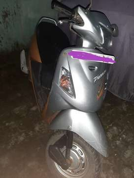 Scooty (Pleasure)with approx total 17000 km run and milege of 35km/l