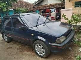 Jual Sedan Starlet EP 71 / 1300cc th 1990 BIRU CIREBON 32.000.000
