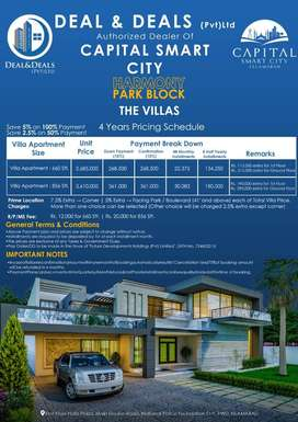 Book Your Appartment in Capital Smart City Islamabad