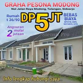 Rumah Baru Tulangan DP 5juta Bebas Biaya
