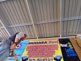 MUHARA TRAVEL Tujuan Palangkaraya-Banjarmasin-Batulicin-Tanjung (PP)