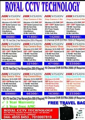 HIKVISION, HIFOCUS, DAHUA CCTV CAMERA SALES AND SERVICE