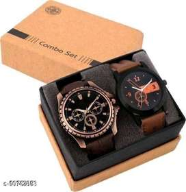 Trendy Men's Watch [Pack of 2] - COD and 7 Days Easy Returns