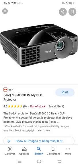 Projector .. BenQ Ms 500..DLP machine