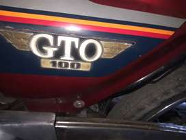 Gto kawasaki 100 in total genuine parts and working condition