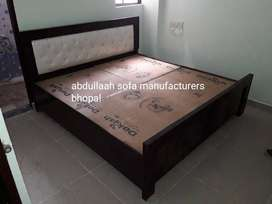 Brand new queen size double bed with storage direct from factory