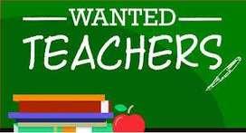 Math Teachers wanted
