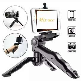 Tripod Mini DSLR Vlog Smartphone Handle Camera Action Cam Go Pro