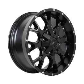 Velg mobil racing PIRU R20x9 h6x139,7 black polish