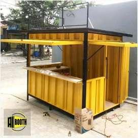 kredit container booth bisa untuk jualan apa saja,kirim semua kota