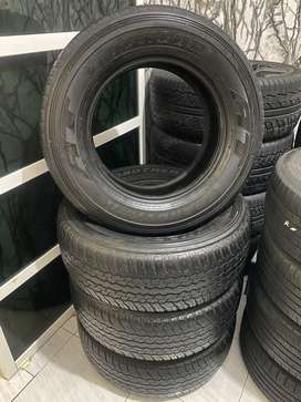 4pc Dunlop 265/65 R17 80% Fortuner,Pajero dll