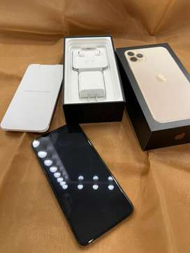 Iphone 11 pro max 256Gb ROSE GOLD second rasa baru