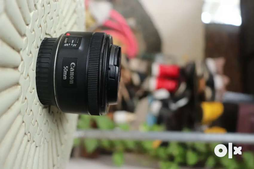 Canon 50MM Lens With 1 Year Warranty