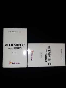 Vitamin C Triman kaplet 500 mg
