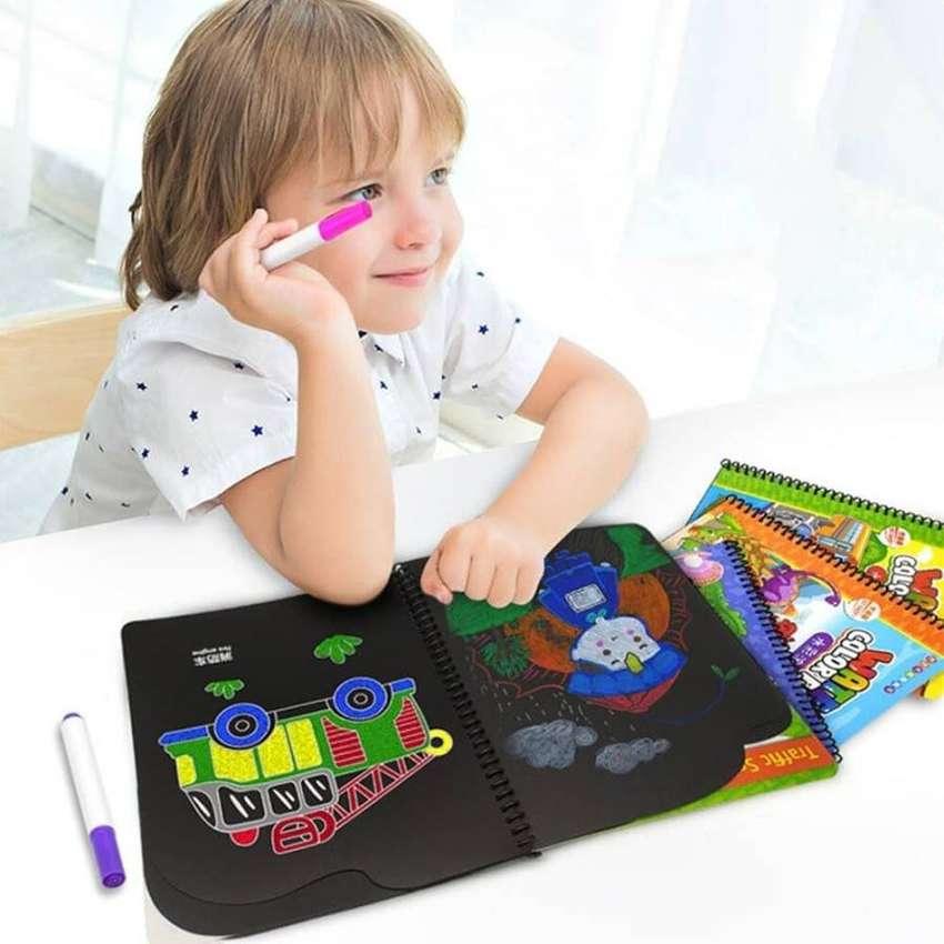 Mainan Edukasi Anak Laki Laki Perempuan Buku Menggambar Gambar