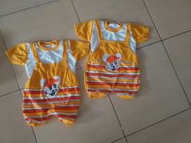 Baju harian bayi usia 0-1thn 25.000