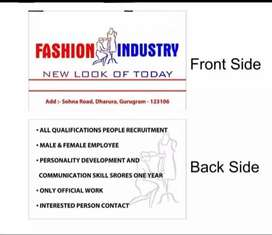 Fashion idustry&brand promoter