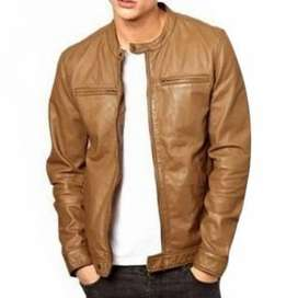 All plus size original branded leather jacket