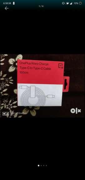 OnePlus type c to c cable 150cm