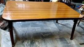 SOLID SHEESHAM DINNING TABLE AVAILABLE FOR SALE