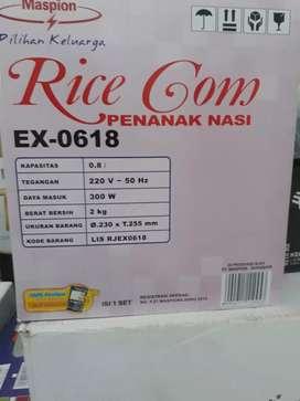 Rice Com Penanak nasi merk maspion kondisi baru