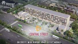 Built-up Sco With Lift 16.6x67.6 Main Airport Road Secter 67 Mohali