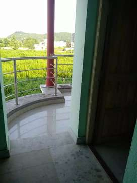 two side attached balcony view; attached to the bedroom