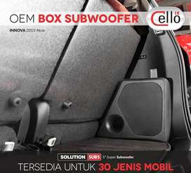 Subwoofer Active Power Woofer 2in1 CELLO Fit Innova Include Pasang
