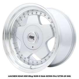 murah Aachen Hsr R16x8-9 H8x100-114,3 et 30-25 Smfl