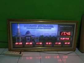 jam pengingat sholat untuk masjid dan musholla