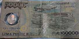 Uang kuno 50,000,00