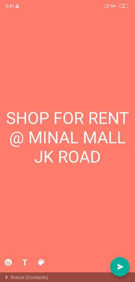 Shop for Rent, Minal shopping mall, JK road