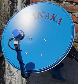 Pohjentrek anten tv mini parabola,hakmilik sekali beli,gratis iuran
