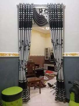 Ruang Dekorasi interior gordyn hordyn tapilan penjahit propesonal 8951