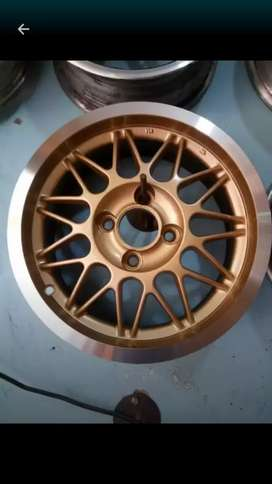 "14"" hollow Alloy Rims"