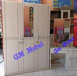 GM MEBEL. Paket Kamar Set Putih Pekanbaru