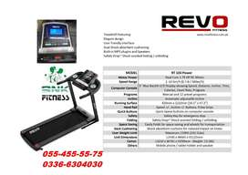 Revo RT 103 Motorized Treadmill Foldable & Auto Incline