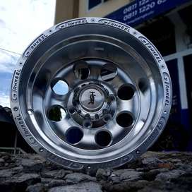Velg Mobil Ring 15 lebar 10 PCD 6X139,7 untuk Hardtop, Mazda BT50 dll