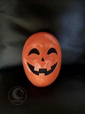 Mask   Topeng Devil Pumpkin Halloween