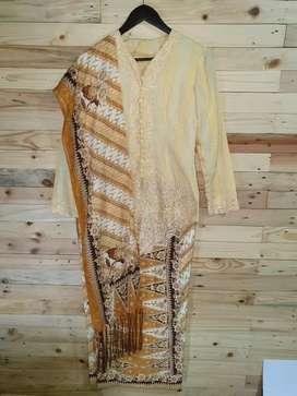 Kebaya Size M + Rok Batik + Selendang Batik