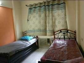 2 sharing bedroom ac pg abailable fully furnished in koparhairane