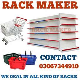 Complete racking in MARTS and storage racks