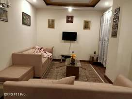 E 11 2 bed full furnished DAILY basis  for rent on main margalla road