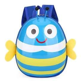 LXFZQ Tas Ransel Sekolah Anak Backpack Model Lebah - E-301 - Blue