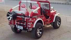 Open jeep modification