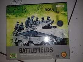 vcd  BBC original battlefields 4cds
