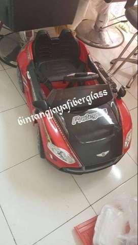kursi barber untuk anak motif mobil