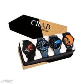 Men's stylish watch combo