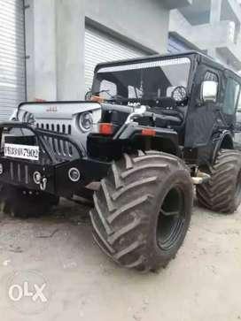 Panwar modified open jeep